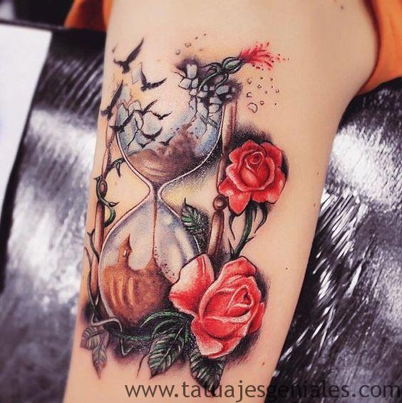 sablier de tatouage 7