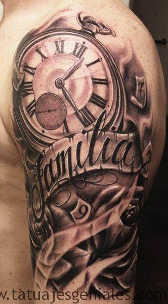 montre de tatouage sur le bras 2