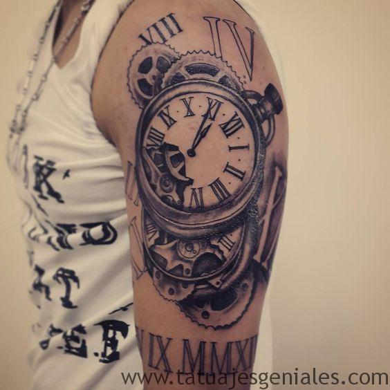 montre de tatouage pour femme 1