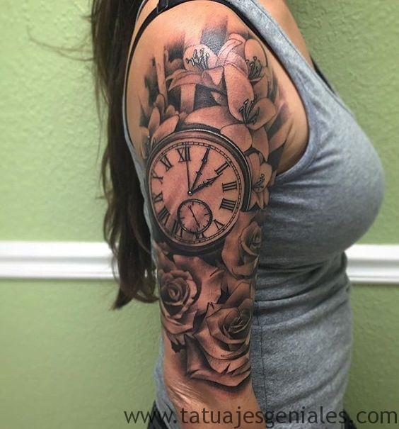 montre de tatouage pour femme 2