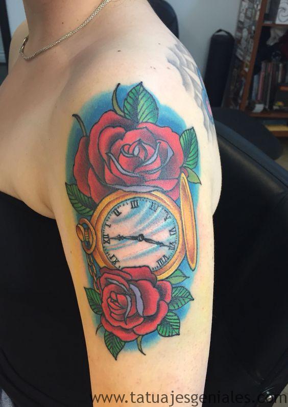 montre de tatouage pour femme 4