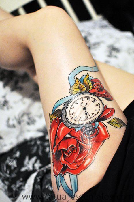 montre de tatouage pour femme 6