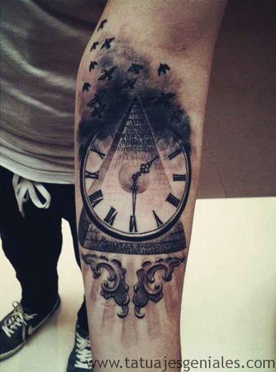 montre de tatouage pour homme 2
