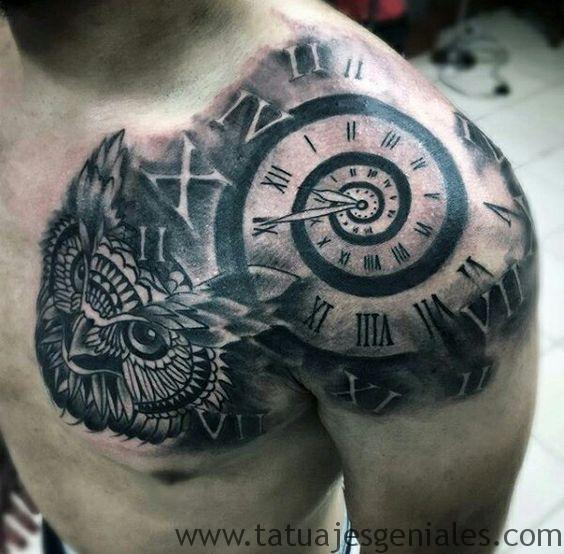 tatouage montre homme 1
