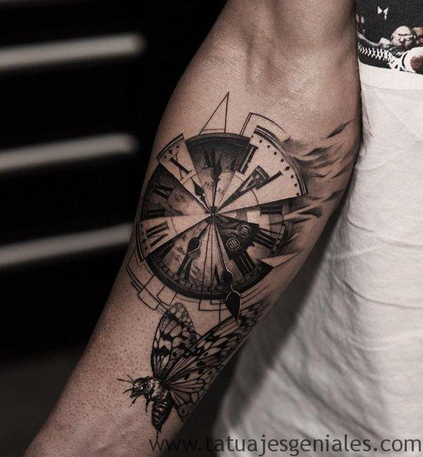 tatouage montre homme 5