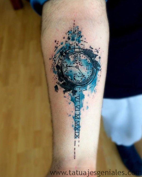 tatouage montre homme 6