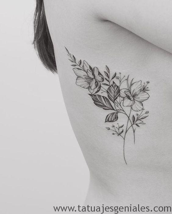 tatouage roses fleurs 3