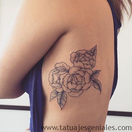 tatouage roses fleurs 5