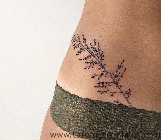 tatouages de hanche pour femmes 2