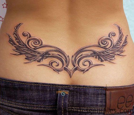 tatouages de hanches tribales 4