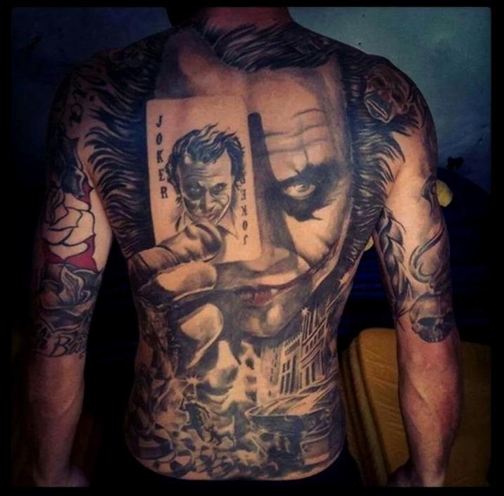 tatouages dos hommes 2