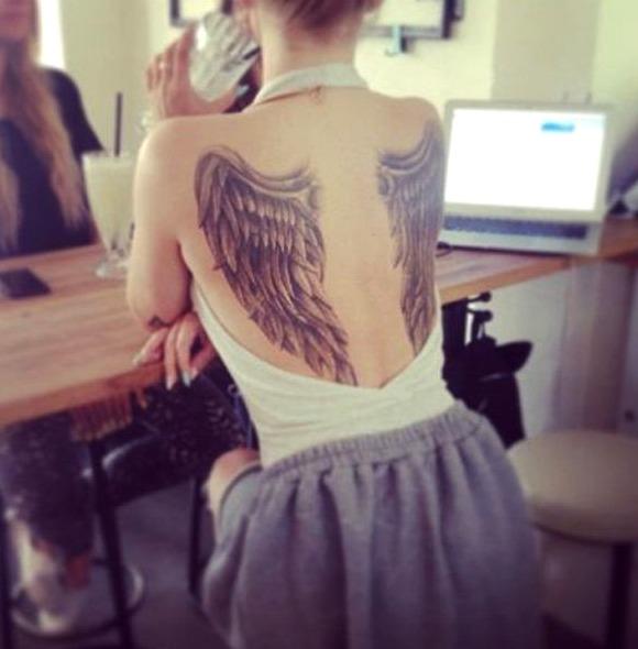 tatouages au dos