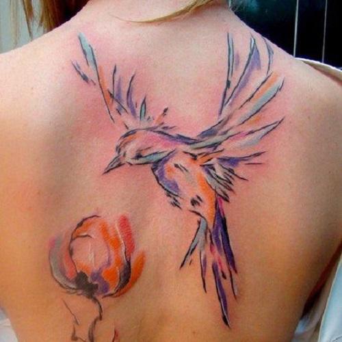 tatouages pour femmes dos 2017 4