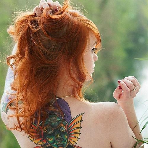tatouages pour femmes dos 2017 5