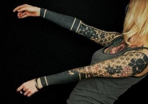 tatouages tribaux femmes catalogue 3