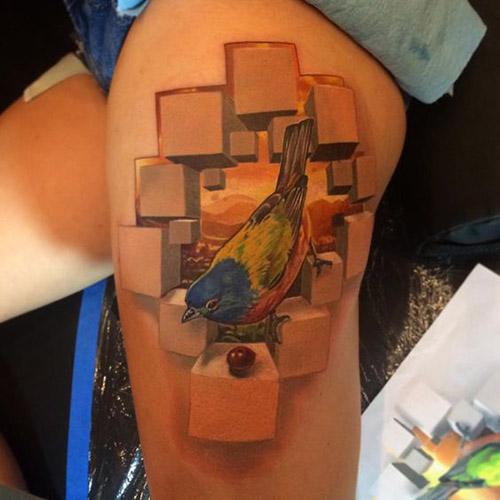 tatouage pour femmes 3D réalistes 3