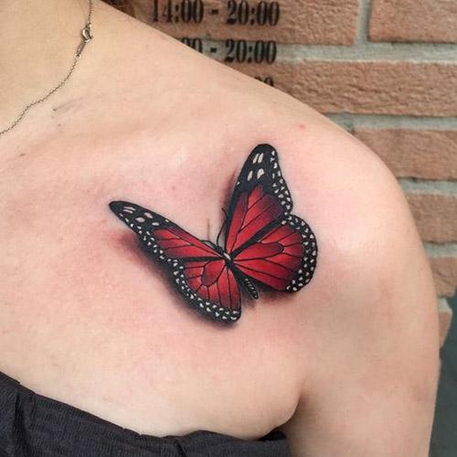 tatouage pour femmes 3D réalistes 1