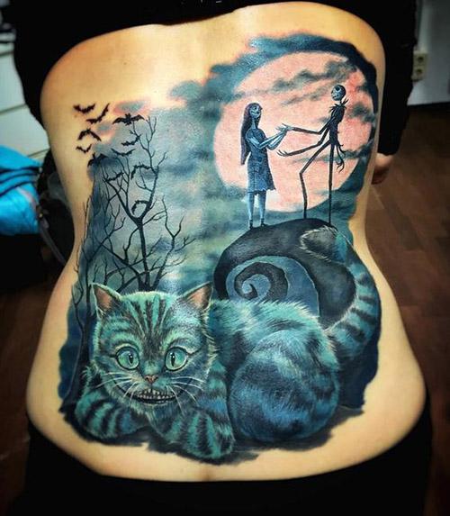 tatouage pour femmes 3D réalistes 4