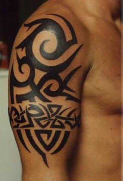tatouages tribaux hommes originaux 3