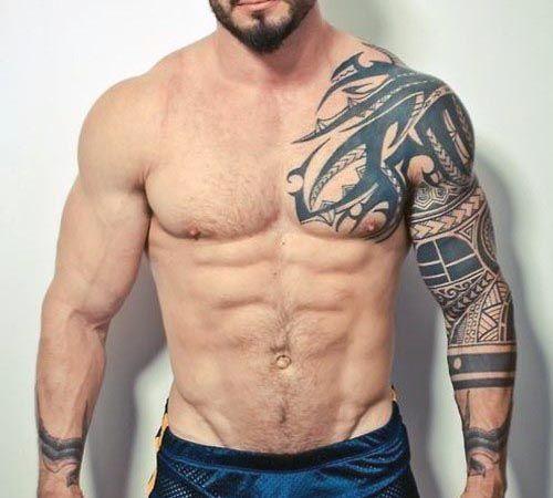 tatouages tribaux hommes originaux 1