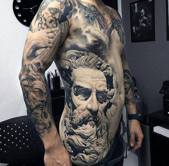 Tatouages 3d hommes 1