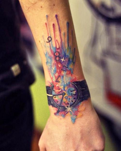 tatouages hommes blackwork couleur 6