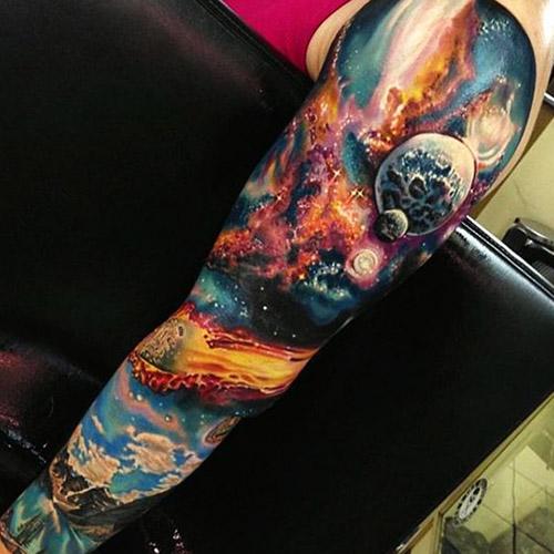 tatouages hommes blackwork couleur 3