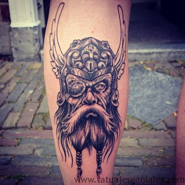 Tatouages viking nordique 1