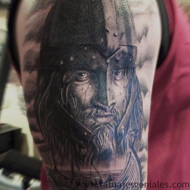 tatouages viking bras 2