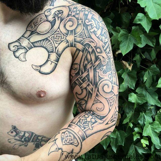 tatouages viking bras 3