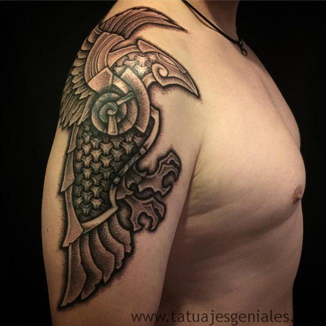 tatouages viking bras 4