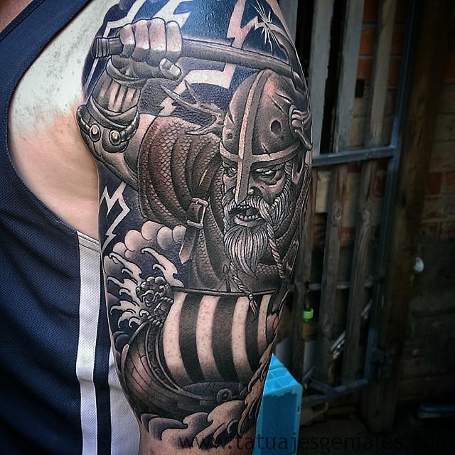 tatouages viking bras 6