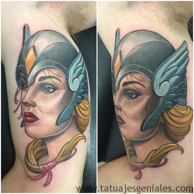 Tatouages de femmes viking 6