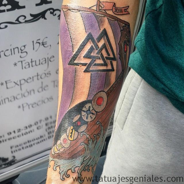 tatouage vikings bateaux 4