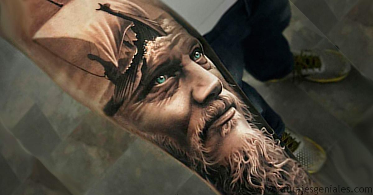 Couverture de tatouages Viking