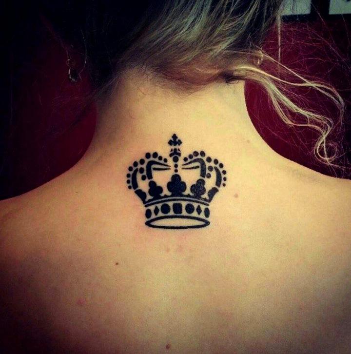 Tatouages de couronne de princesses et de reines