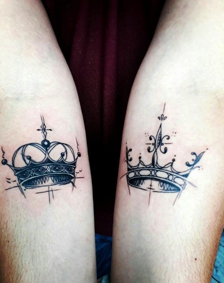 Tatouages de la Couronne