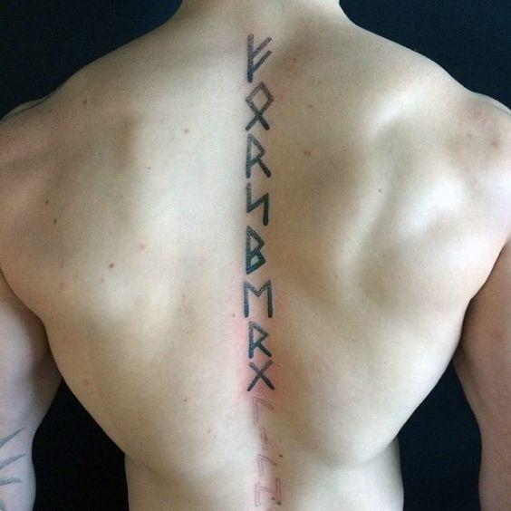 Tatouage Rune