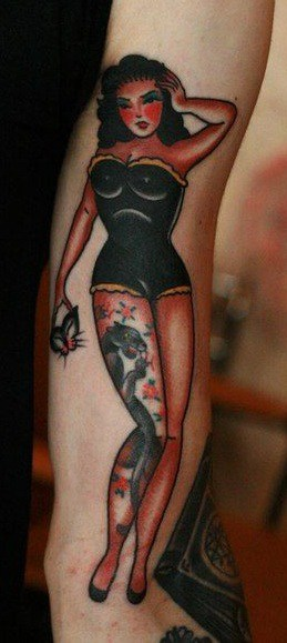 Tatouage Pin-Up