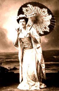 Geisha dans Madame Butterfly