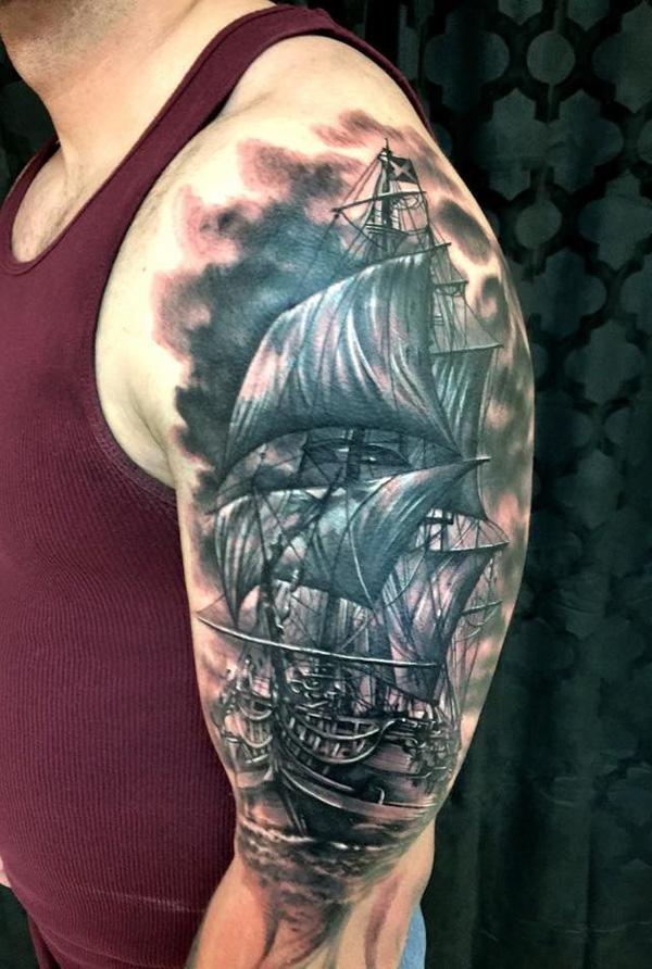 Tatouage de bateau41