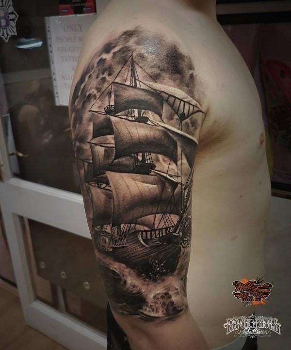 Tatouage de bateau-55