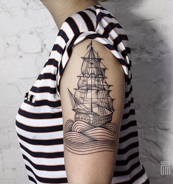 Bateau tatouage-60