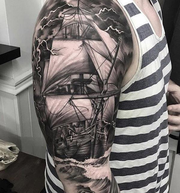 Bateau tatouage-80