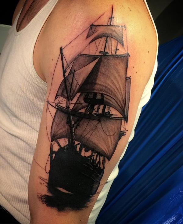 Bateau tatouage-75