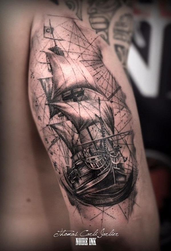Bateau tatouage-84