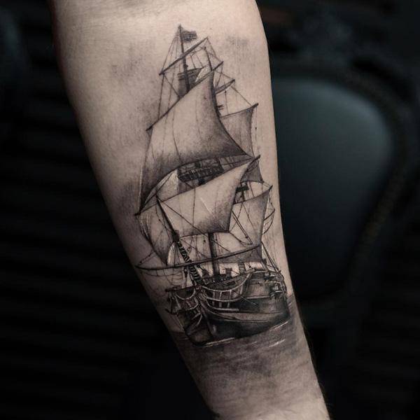 Tatouage de bateau-94