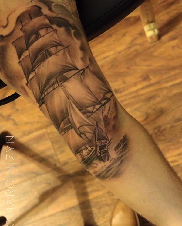Bateau tatouage-97