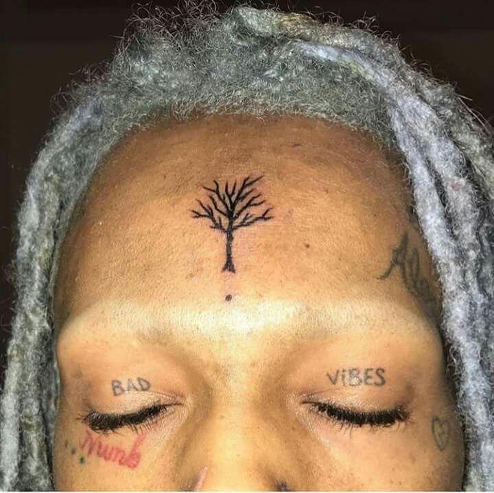 Tatouage XXXTentacion Bad Vibes