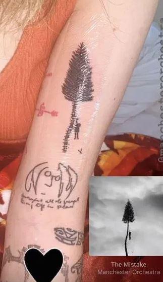 Arbre de tatouages Paris Jackson